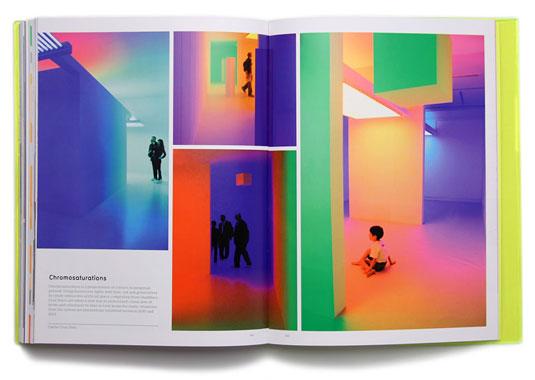 flourescent colours in print
