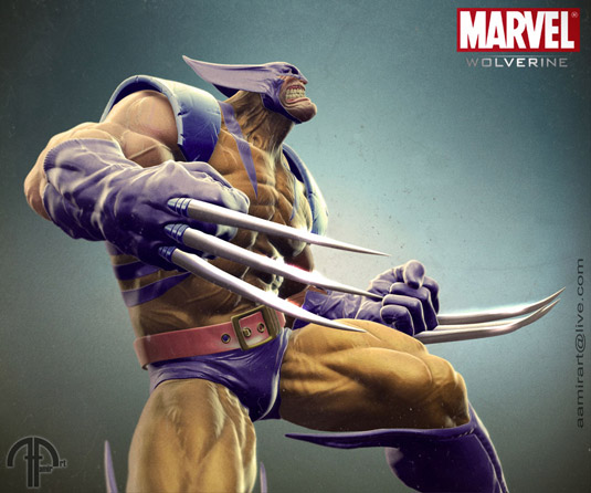 3D art: Wolverine