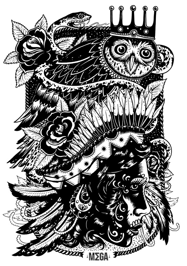 Ollie Munden - Gypsy, Owl, Snake