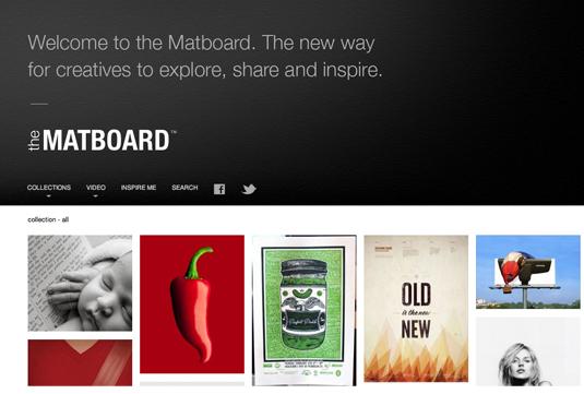 Mood boards Matboard