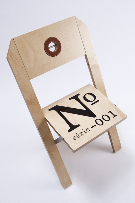 label chair