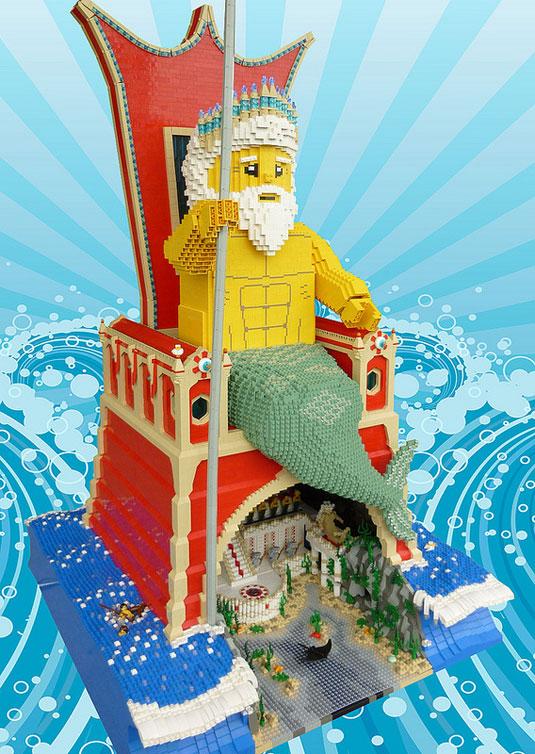 Lego Art: Poseidon