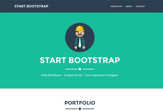 Free Bootstrap themes - Freelancer