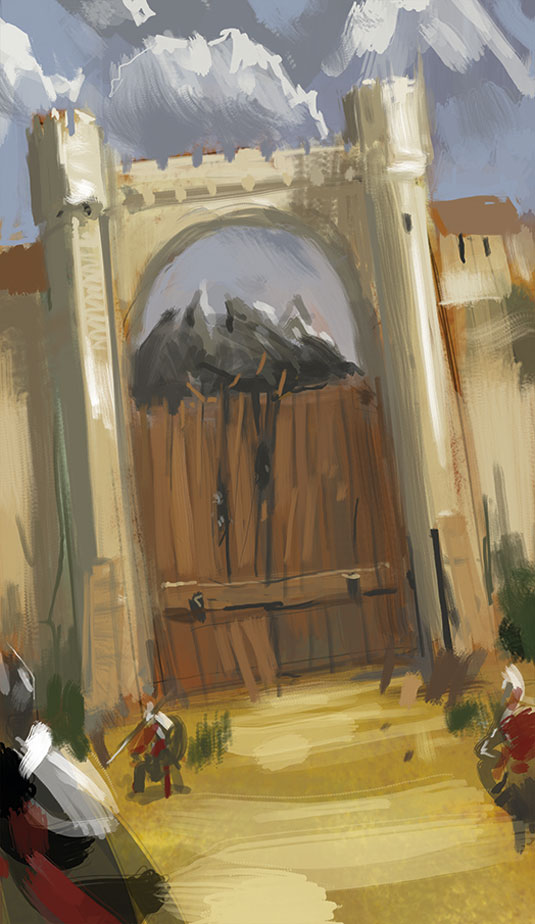 Gate siege