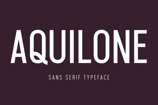 Aquilone font