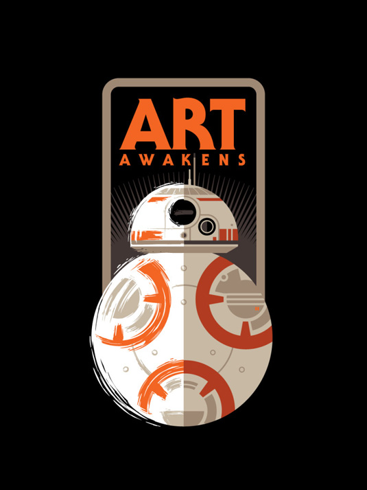 Star Wars Art Awakens