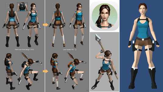 lara croft go mobile game