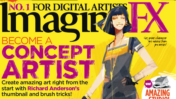 Become a concept artist with the latest issue of ImagineFX