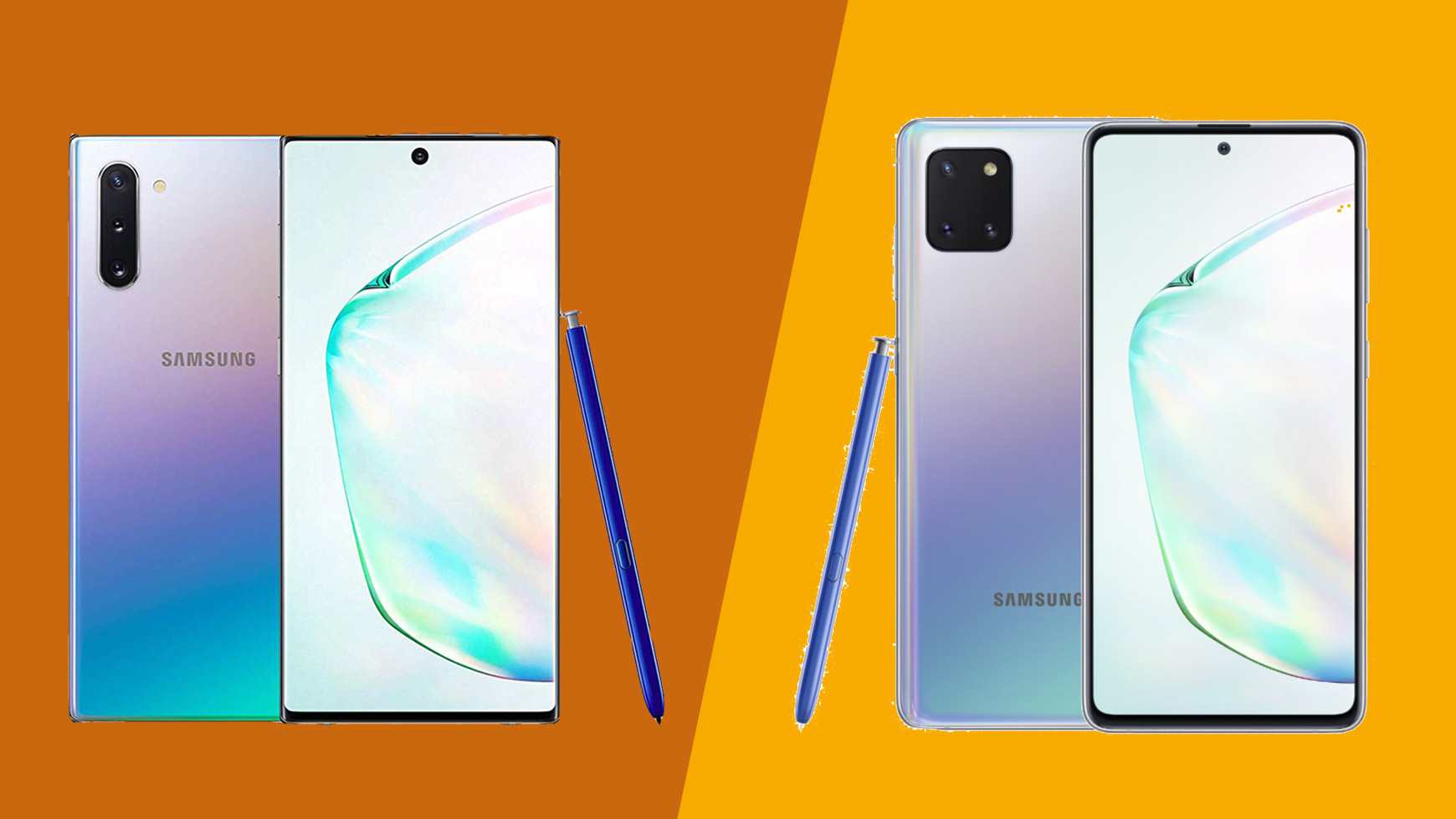 Samsung Galaxy Note 10 vs Galaxy Note 10 Lite: premium or affordable stylus phone?