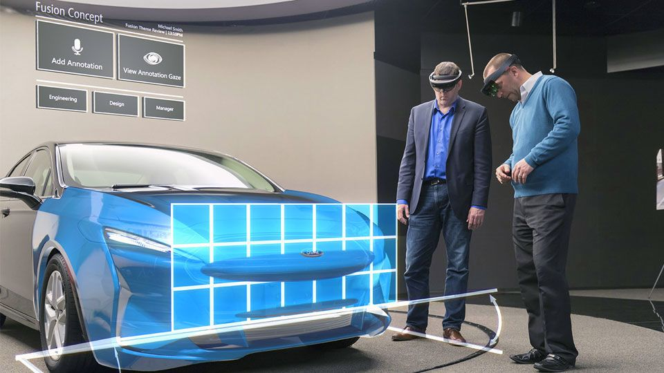 Ford using AR apps to prototype its future car designs