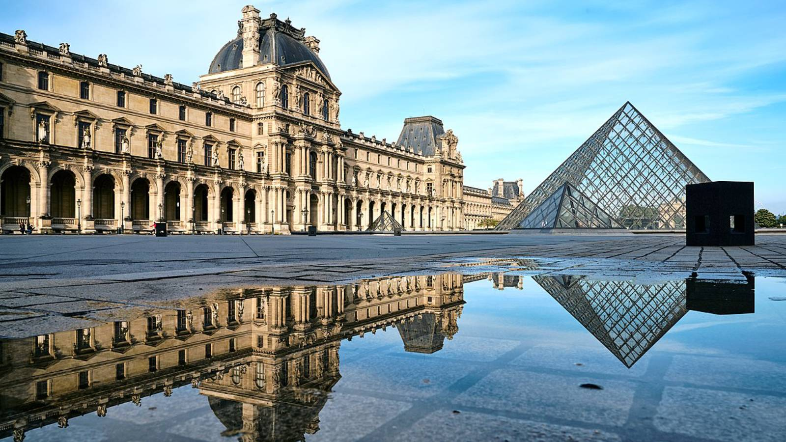The Lourve virtual tour