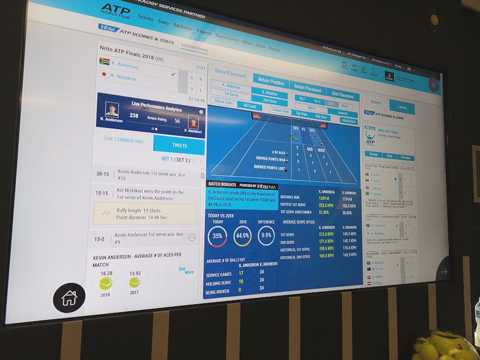 Infosys serves up data expertise for ATP