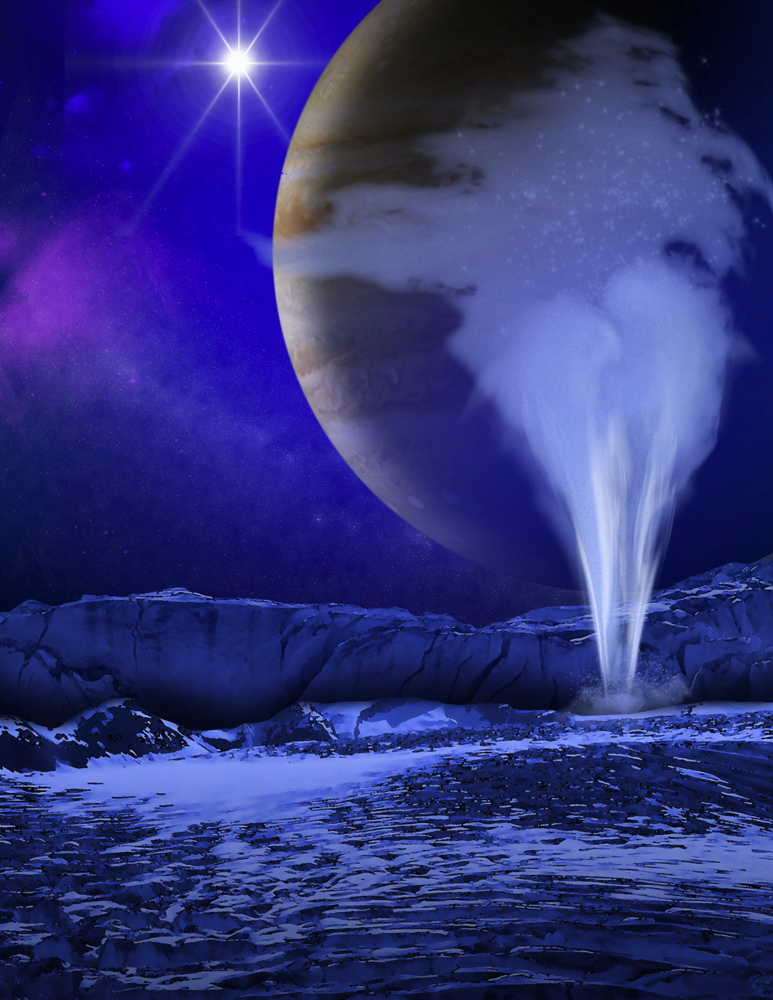 The Weird Plumes of Jupiter's Moon Europa Are Spewing Water Vapor