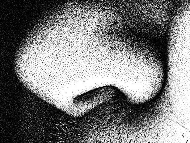 Nose and skin detail from Hero