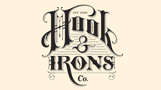 Logotype: Hook & Irons