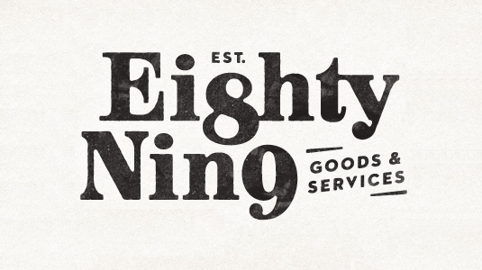 Logotype: Established 89
