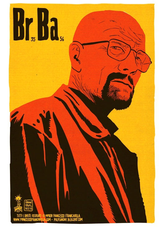 breaking bad minimal posters
