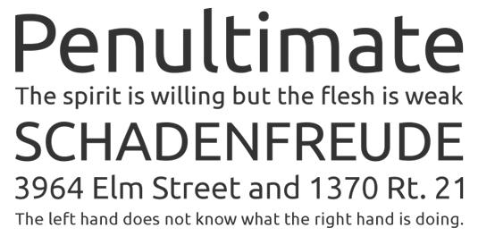 Google Fonts: Ubuntu