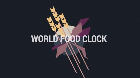 World Food Clock by Luke Twyman