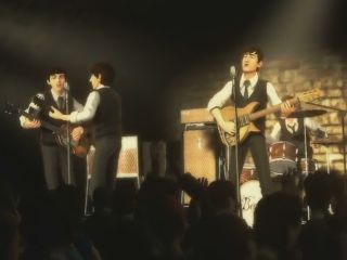 The Beatles in Rock Band form at The Cavern Club