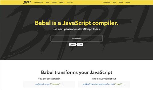 ES6: Babel transpiler