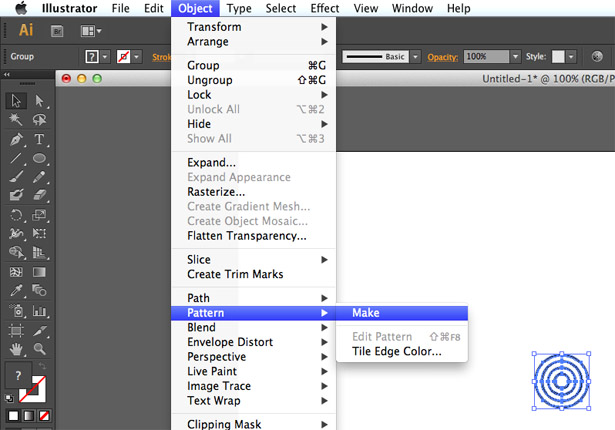 Illustrator CS6's new tools help automate the process of pattern creation
