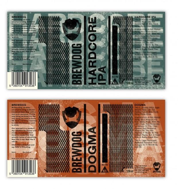 BrewDog packaging