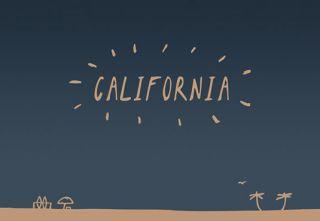 Fuentes de escritura gratis California Sans