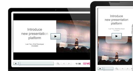 How to create a presentation: Vcasmo