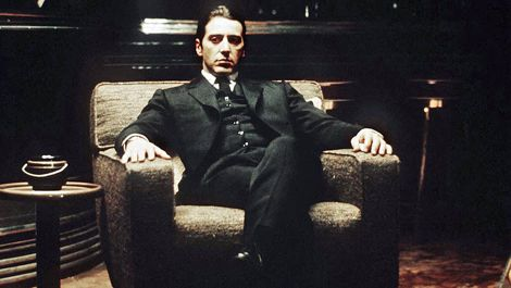 Is it just me or is the godfather part ii completely for Poltrona scarface