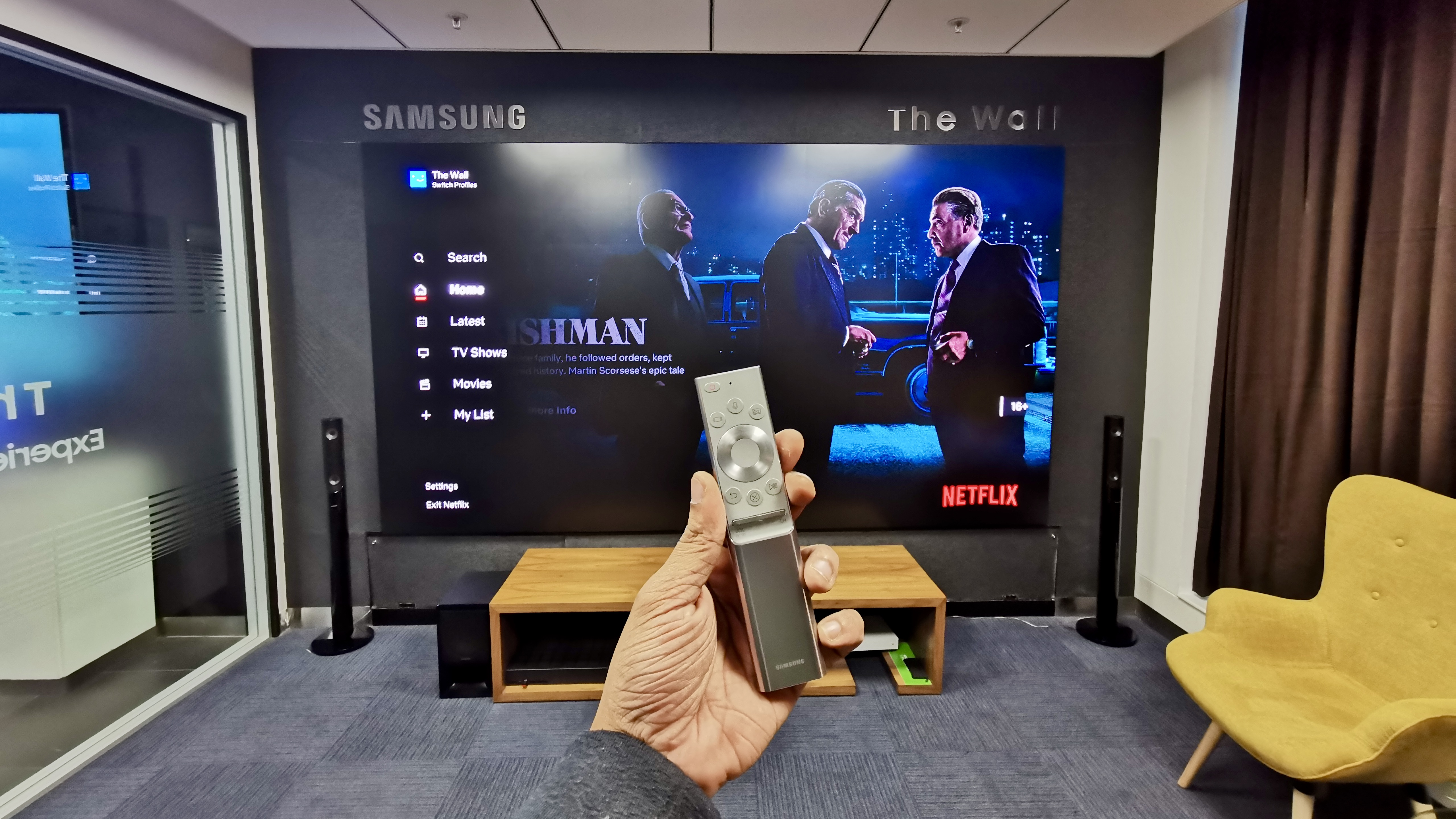 Samsung The Wall MicroLED: First look