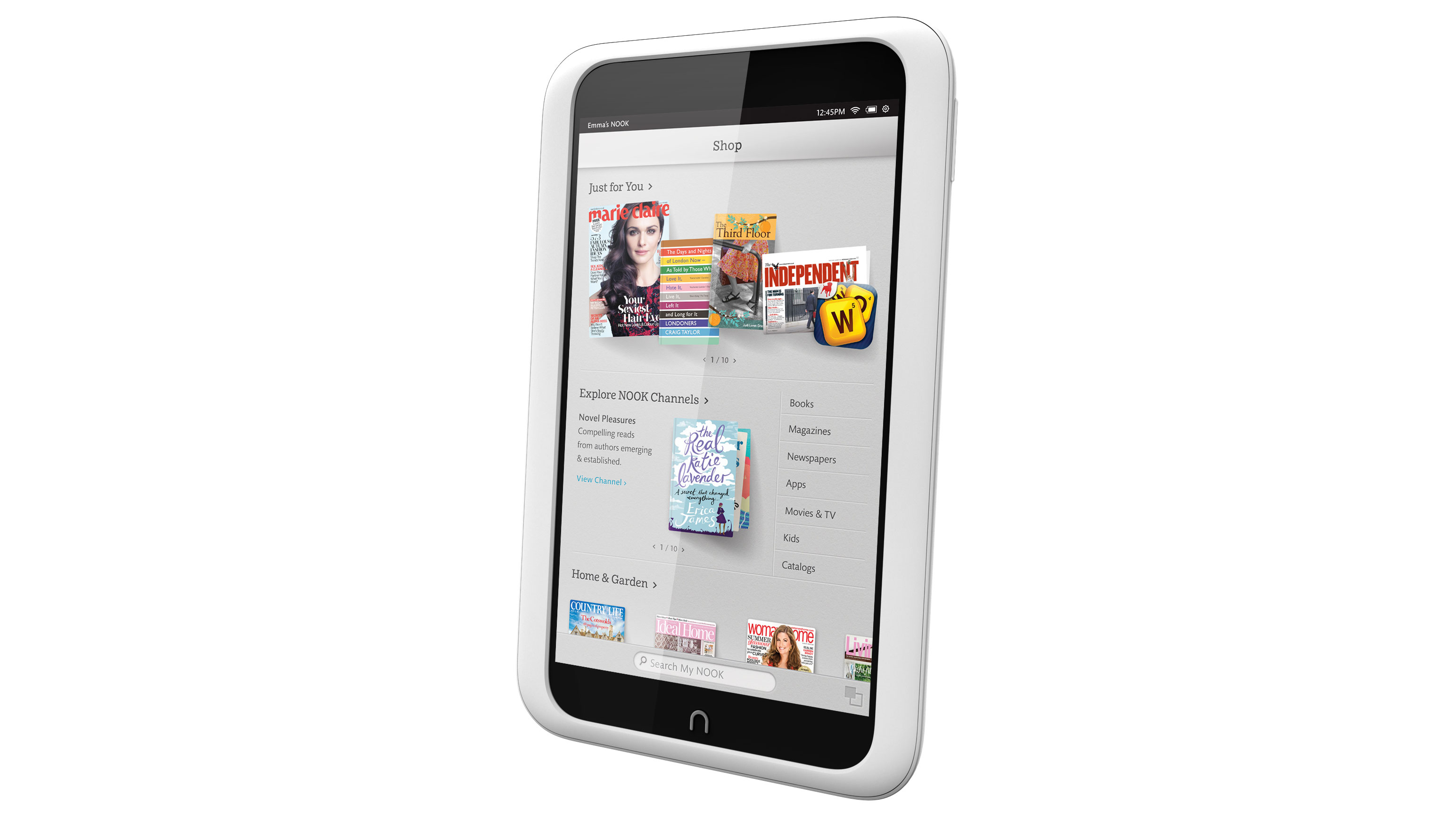 First Impressions Nook HD 7 inch tablet