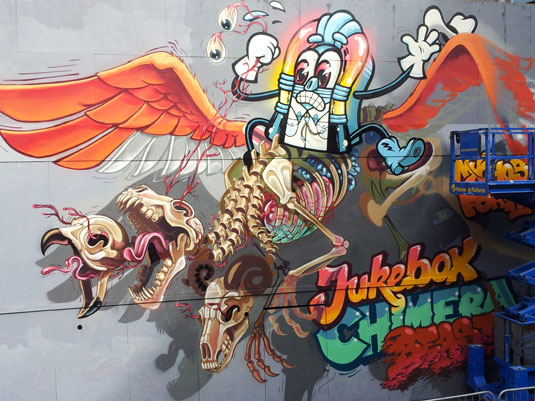 See No Evil: Nychos and the Flying Fortress