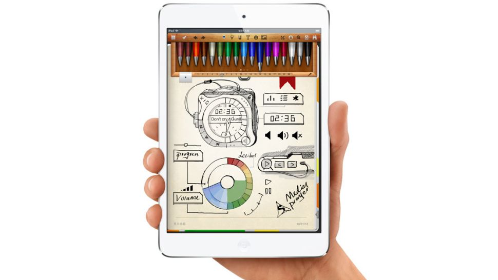 music writing ipad