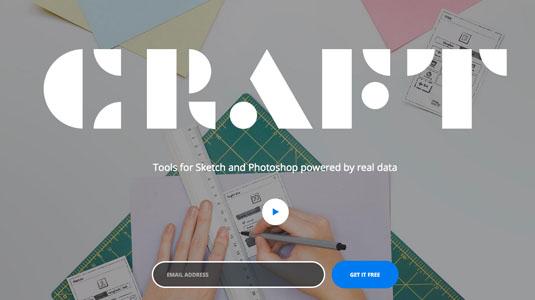 Web design tools: Craft