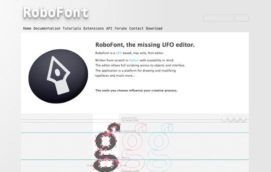 Best font editors: Robofont