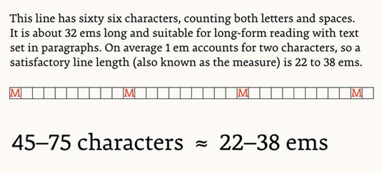 Typography handbook contents