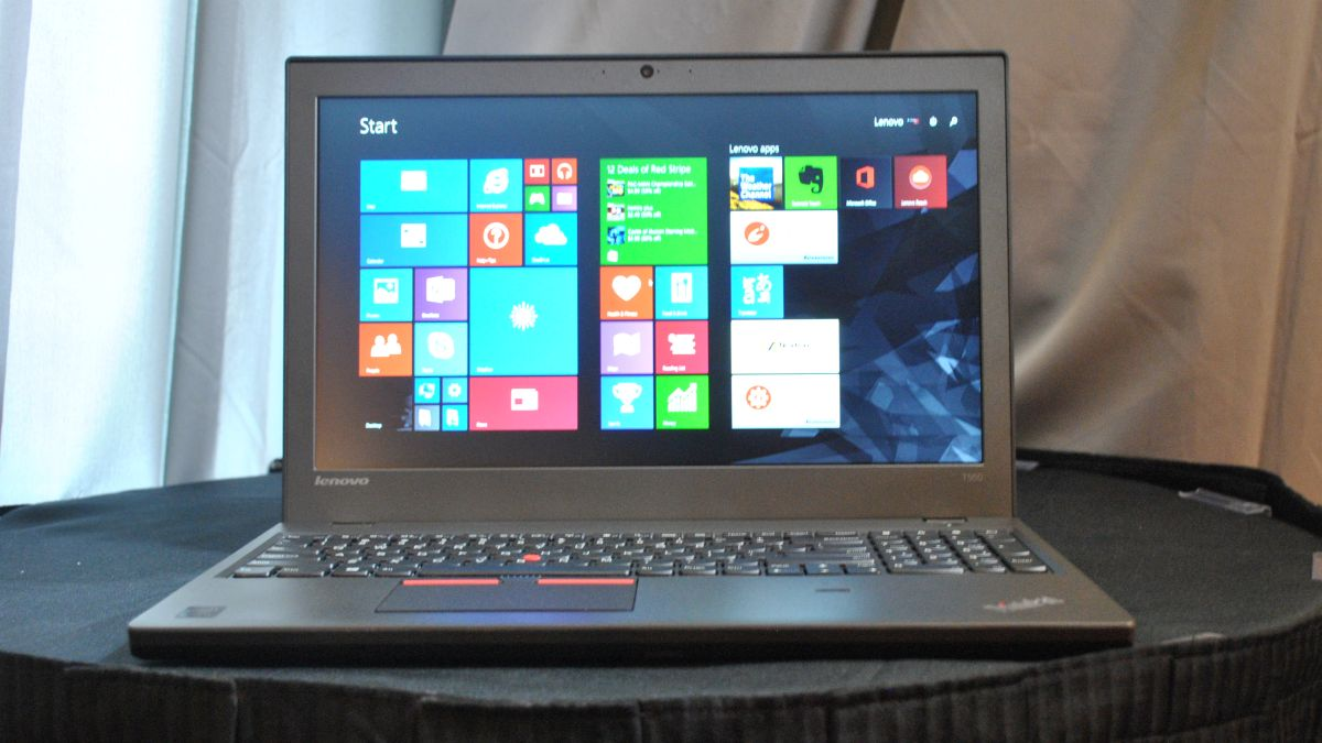 Lenovo Thinkpad T550 Hands On Review Techradar