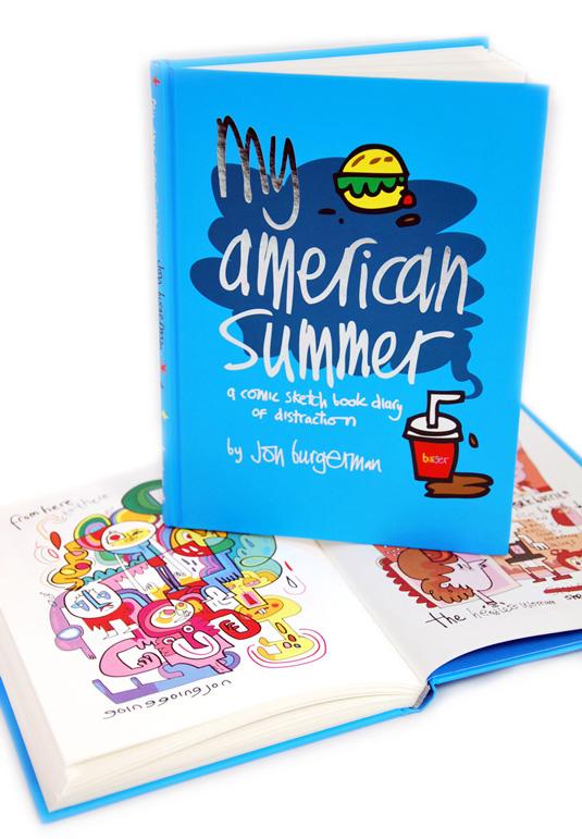 Jon Burgermans My American Summer book