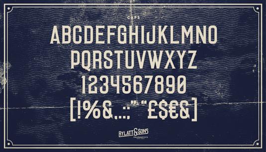 Laudanum font