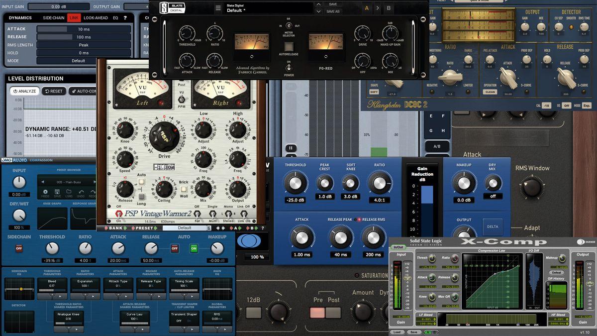 10 Thoroughly Modern Vst Au Compressor Plugins Musicradar