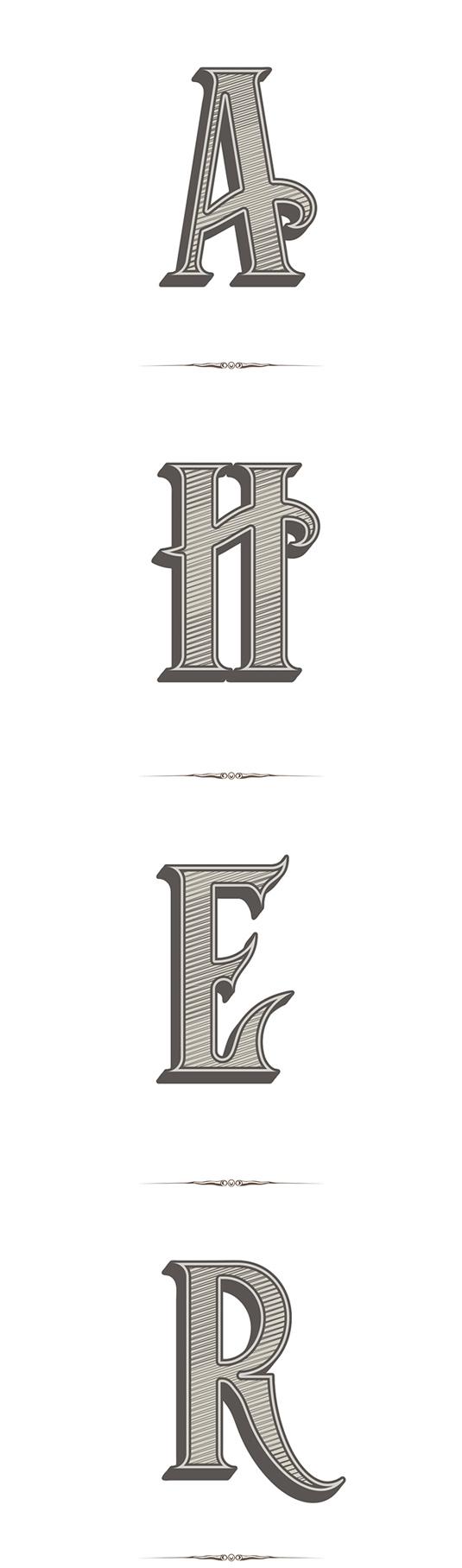 Free font: Hogshead