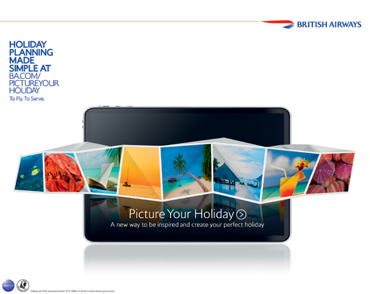Branding campaigns: BA's full-package service