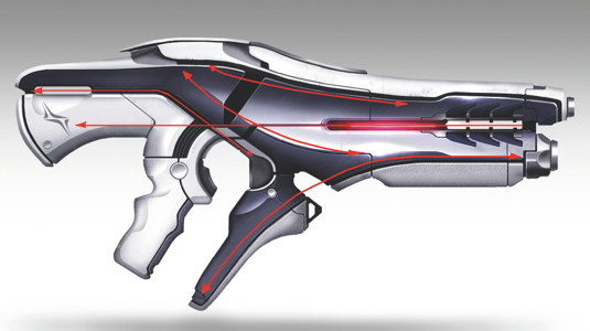 How to design sci-fi weapons