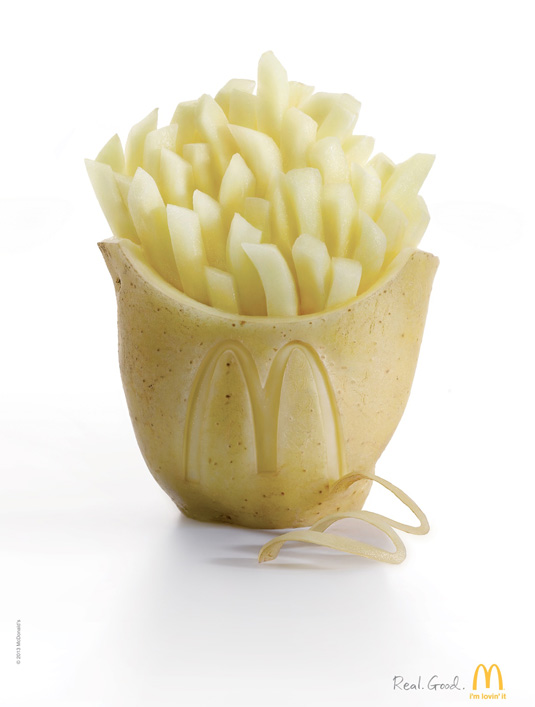 Print ads: McDonald's