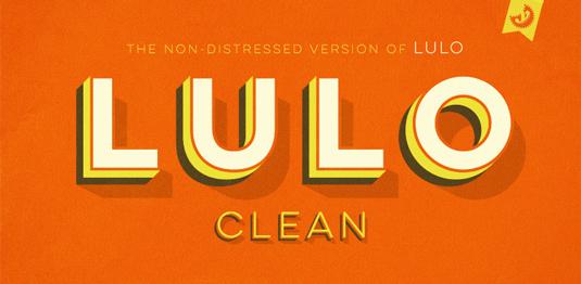 Lulo font