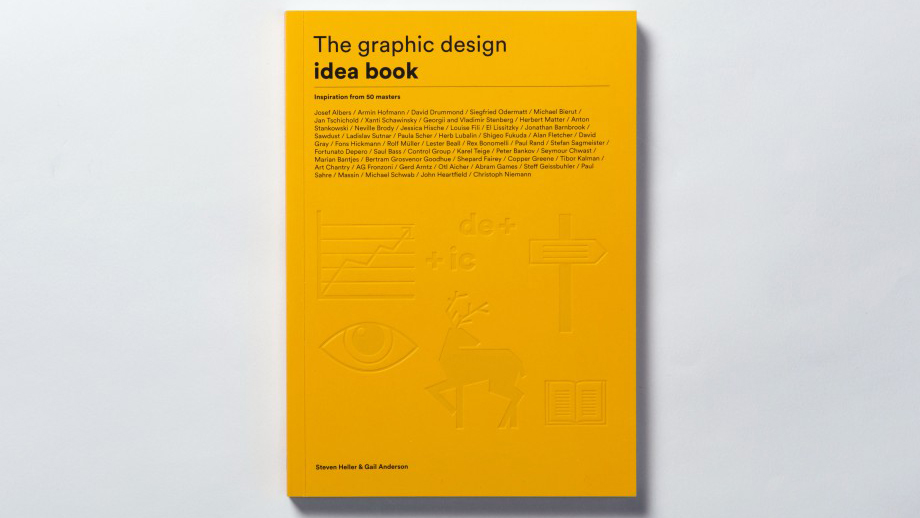Best graphic design tools for April: The Graphic Design Idea Book