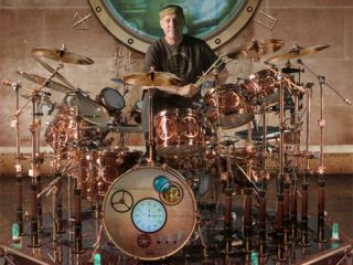 Neil Peart S Dw Drum Kit Gets Steampunk Makeover Musicradar