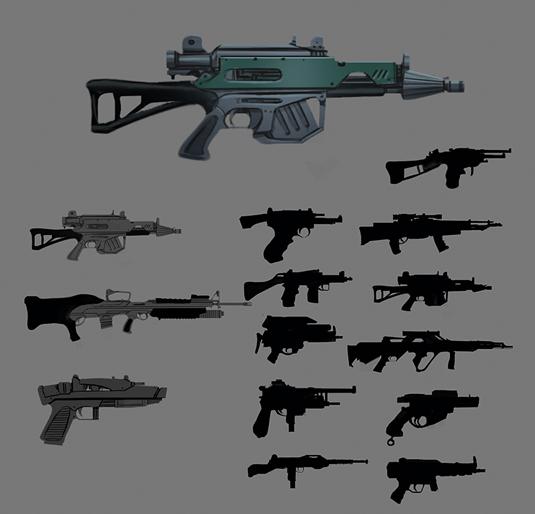Nailing the Star Wars aesthetic - use real guns!