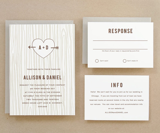 Invitation templates: Leslie Hamer